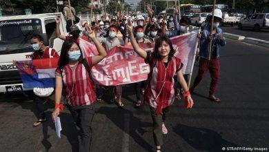 Photo of Widerstand gegen Militärs in Myanmar wächst
