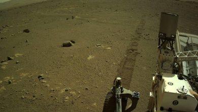 """Photo of """"Perseverance"""" schickt erstmals Audio-Aufnahme von Mars-Fahrt"""
