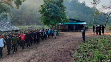 Photo of Schwere Kämpfe in Myanmar an der Grenze zu Thailand