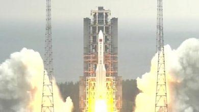 Photo of Reste von chinesischer Rakete in den Indischen Ozean gestürzt
