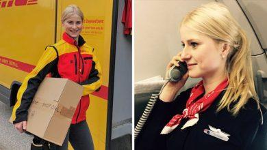 """Photo of Früher Flugbegleiterin, jetzt DHL-Fahrerin: Sophia, 32, über ihr """"unerwartetes Job-Jahr"""""""